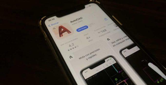 Conseguir AutoCAD para móvil