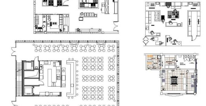 Bloques AutoCAD Arquitectura Industrial GRATIS
