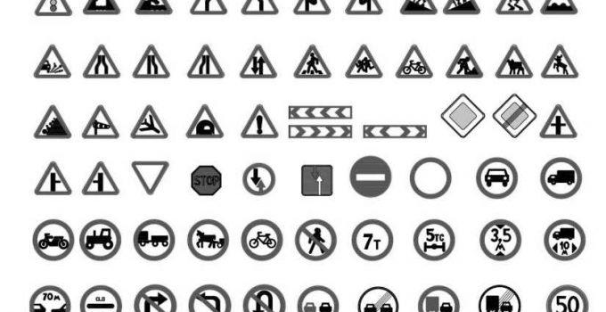 Bloques AutoCAD Señales GRATIS
