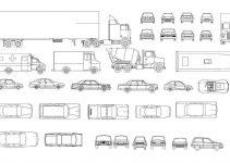 Bloques AutoCAD vehículos GRATIS