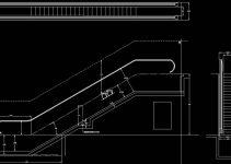 Bloques AutoCAD Escaleras Mecánicas GRATIS