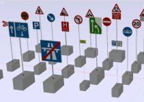 Bloques AutoCAD Señales Seguridad GRATIS
